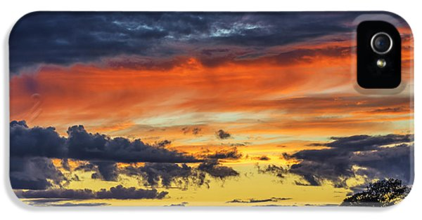 IPhone 5 Case featuring the photograph Scottish Sunset by Jeremy Lavender Photography