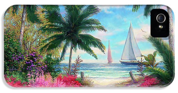 Jazz iPhone 5 Case - Sea Breeze Trail by Chuck Pinson