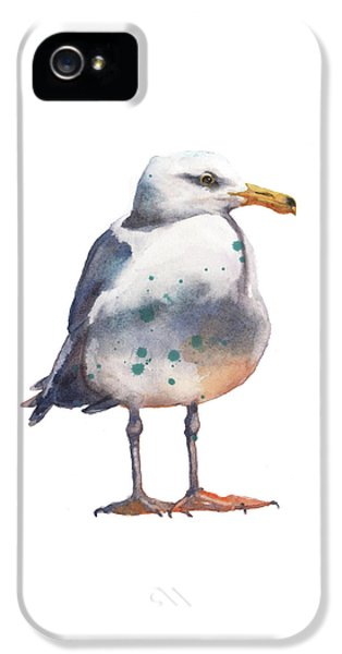 Seagull Print IPhone 5 Case by Alison Fennell