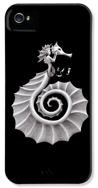 Seahorse Siren IPhone 5 Case by Sarah Krafft