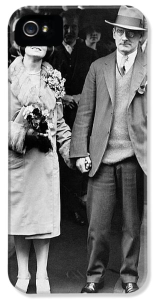 Sean O'casey Wedding IPhone 5 Case by Underwood Archives