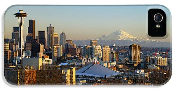 Seattle Cityscape IPhone 5 Case