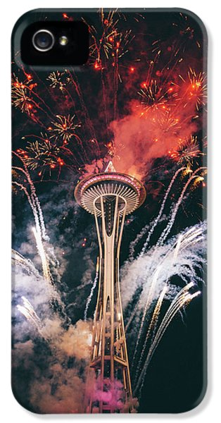 Seattle IPhone 5 Case by Happy Home Artistry