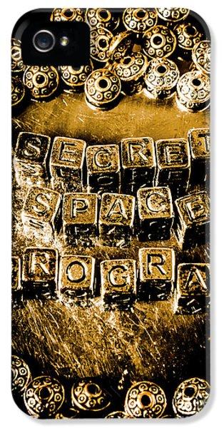 Secret Space Program IPhone 5 Case by Jorgo Photography - Wall Art Gallery