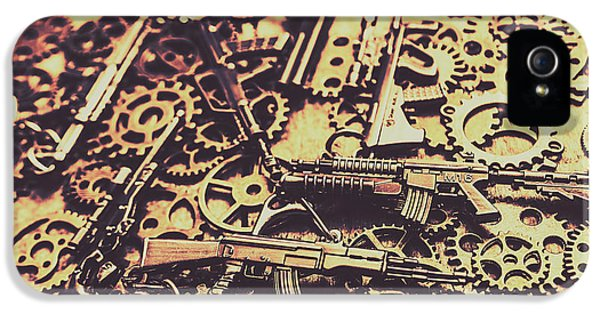 Security Stockpile IPhone 5 Case by Jorgo Photography - Wall Art Gallery