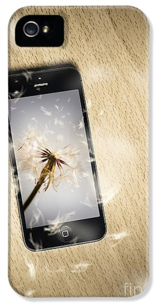 Seeding Connectivity IPhone 5 Case by Jorgo Photography - Wall Art Gallery