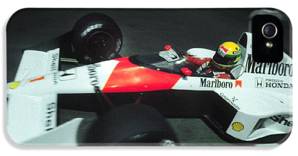 Senna Into 9 IPhone 5 Case by Paolo Govoni