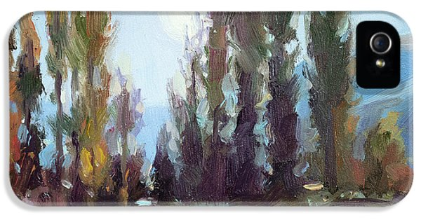 Impressionism iPhone 5 Case - September Moon by Steve Henderson