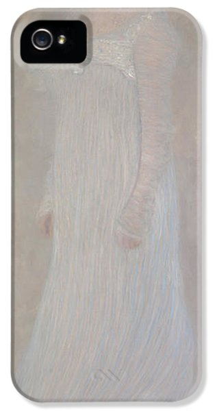 Serena Pulitzer Lederer, 1899 IPhone 5 Case by Gustav Klimt