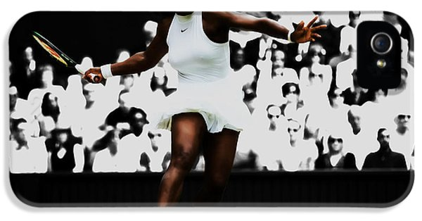 Serena Williams iPhone 5 Case - Serena Williams 14p by Brian Reaves