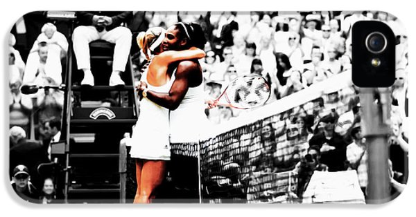 Serena Williams And Angelique Kerber 1a IPhone 5 Case