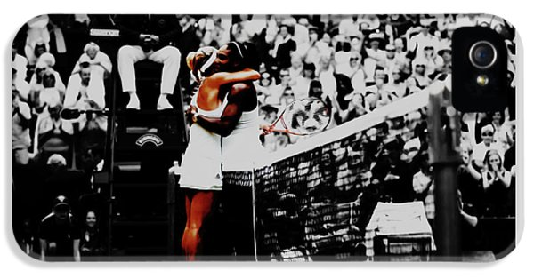 Serena Williams And Angelique Kerber IPhone 5 Case