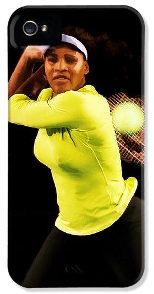Serena Williams Bamm IPhone 5 Case