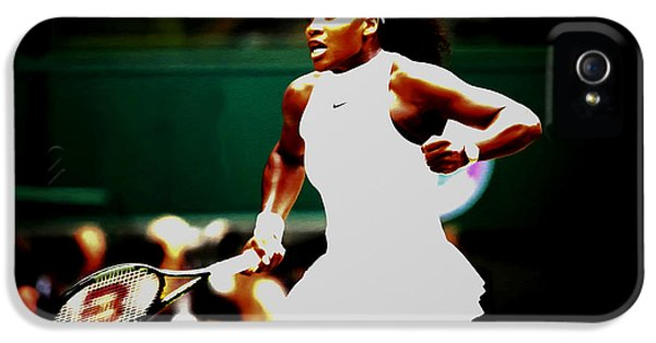 Serena Williams Making History IPhone 5 Case