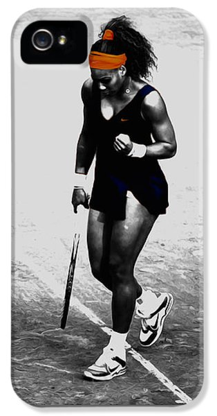 Serena Williams Match Point 3a IPhone 5 Case