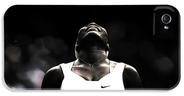 Serena Williams Quote 2a IPhone 5 / 5s Case by Brian Reaves