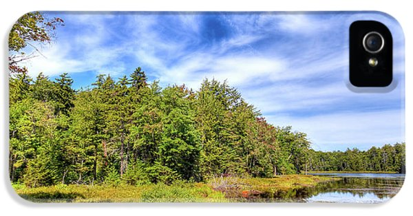 IPhone 5 Case featuring the photograph Serenity On Bald Mountain Pond by David Patterson