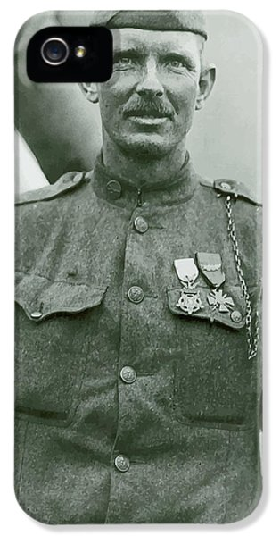 Sergeant Alvin York IPhone 5 Case