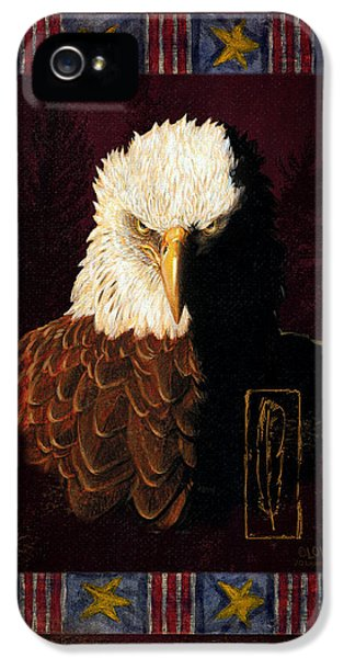 Shadow Eagle IPhone 5 Case by JQ Licensing
