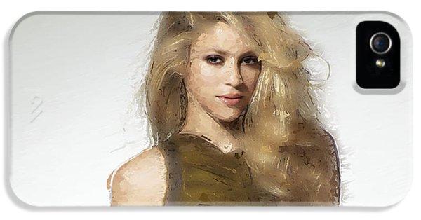 Shakira IPhone 5 Case by Iguanna Espinosa