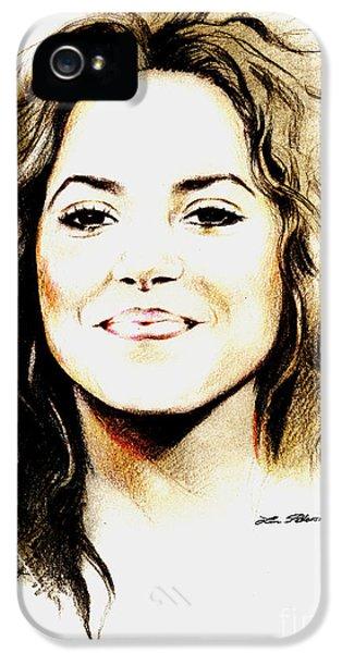 Shakira IPhone 5 Case by Lin Petershagen