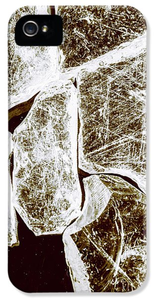 Damage iPhone 5 Case - Shattering Shards by Jorgo Photography - Wall Art Gallery