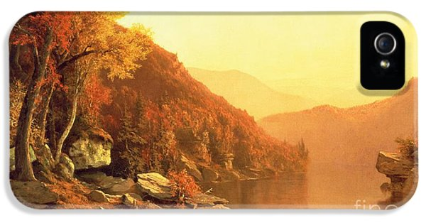 Shawanagunk Mountains IPhone 5 / 5s Case by Jervis McEntee