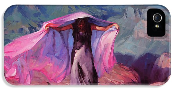 Grand Canyon iPhone 5 Case - She Danced By The Light Of The Moon by Steve Henderson