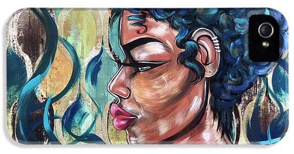 iPhone 5 Case - She Was A Cool Flame by Artist RiA
