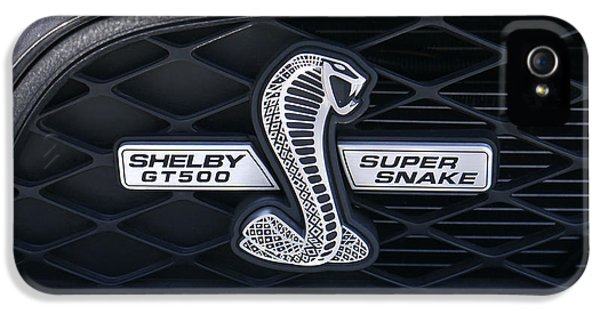 Garden Snake iPhone 5 Case - Shelby Gt 500 Super Snake by Mike McGlothlen