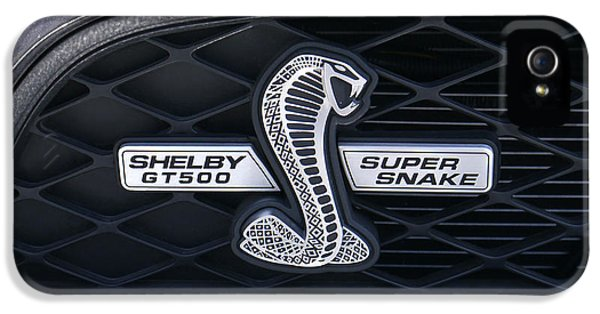Brown Snake iPhone 5 Case - Shelby Gt 500 Super Snake by Mike McGlothlen