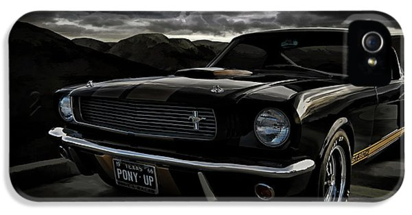 Shelby Gt350h Rent-a-racer IPhone 5 Case by Douglas Pittman