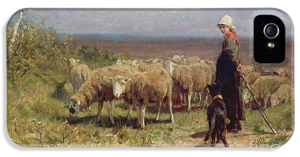 Shepherdess IPhone 5 Case by Anton Mauve