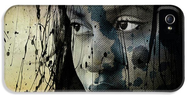 She's Out Of My Life  IPhone 5 Case by Paul Lovering