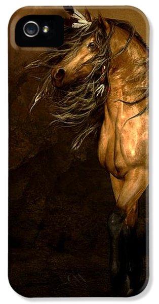 Shikoba Choctaw Horse IPhone 5 Case by Shanina Conway