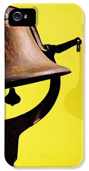 Ship's Bell IPhone 5 Case by Rebecca Sherman