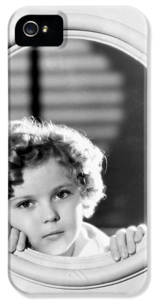 Shirley Temple (1928-2014) IPhone 5 Case by Granger