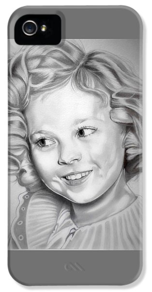 Shirley Temple IPhone 5 Case by Fred Larucci