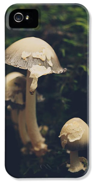 Shroom Family IPhone 5 Case by Shane Holsclaw