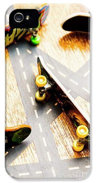 Truck iPhone 5 Case - Side Streets Of Skate by Jorgo Photography - Wall Art Gallery