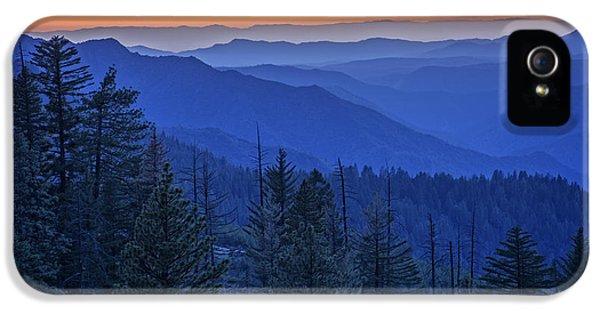 Sierra Fire IPhone 5 Case by Rick Berk