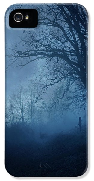 Silence IPhone 5 Case by Cambion Art
