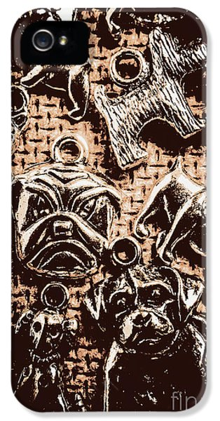 Pendant iPhone 5 Case - Silver Dog Show by Jorgo Photography - Wall Art Gallery