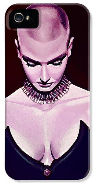 Cobra iPhone 5 Case - Sinead O'connor by Paul Meijering