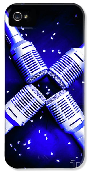Sing Star IPhone 5 Case by Jorgo Photography - Wall Art Gallery