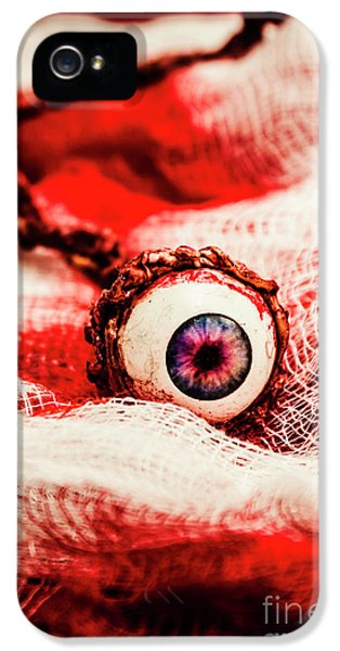 Eyeball iPhone 5 Case - Sinister Sight by Jorgo Photography - Wall Art Gallery