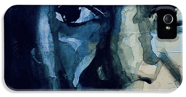Rhythm And Blues iPhone 5 Case - Sinnerman - Nina Simone by Paul Lovering
