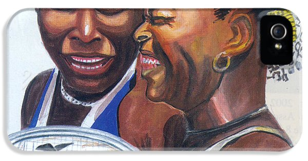 Sisters Williams IPhone 5 / 5s Case by Emmanuel Baliyanga