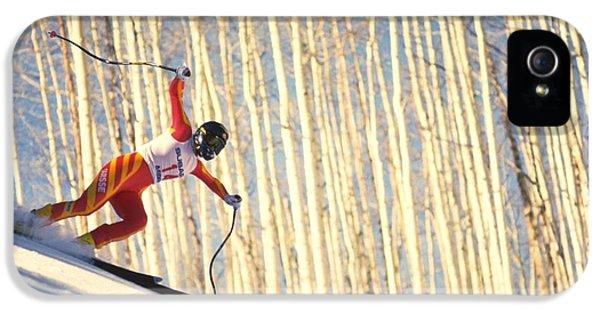 Skiing In Aspen, Colorado IPhone 5 Case