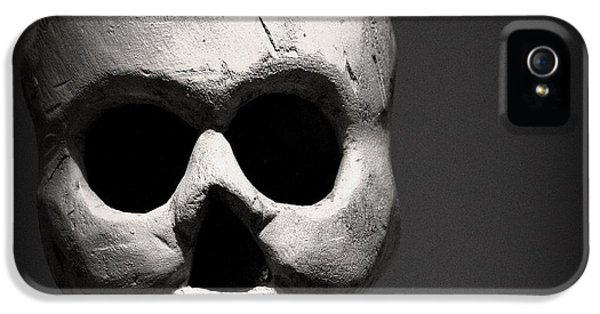 Skull IPhone 5 Case by Joseph Skompski